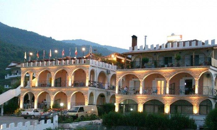 Προσφορά από 47€ ανά διανυκτέρευση με Ημιδιατροφή για 2 ενήλικες και 1 παιδί έως 5 ετών Ισχύει από 1/09 έως 30/09 στο Hotel Alexiou