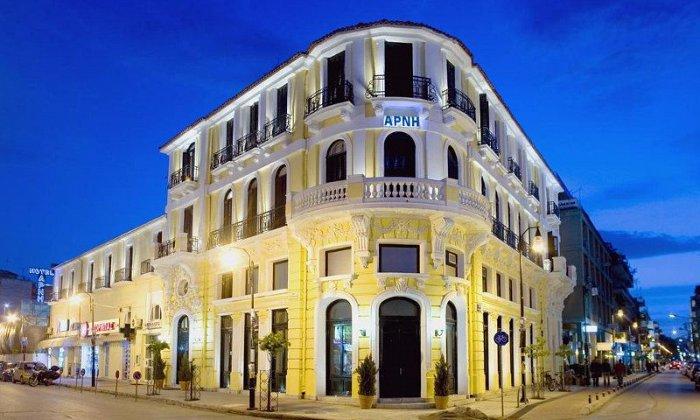 Προσφορά από 76€ ανά διανυκτέρευση με πρωινό για 2 ενήλικες (και 1 παιδί έως 2 ετών) Ισχύει έως 21/12 εκτός 28η Οκτωβρίου στο 4* Domotel Arni Hotel