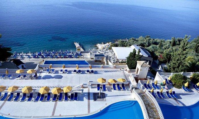 Προσφορά από 530€ για 5 διανυκτερεύσεις με ALL INCLUSIVE για 2 ενήλικες και 1 παιδί έως 12 ετών Ισχύει έως 15/10 στο 4* Sunshine Corfu Hotel & Spa