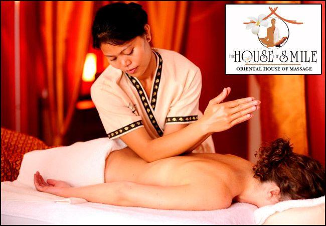 19€ για 60΄απόλαυσης ενός αυθεντικού θεραπευτικού Thai Massage από το The House Of Smile!