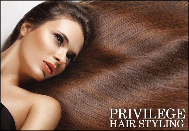 """64€ για μία θεραπεία Brazilian keratin, για να αποκτήσετε ίσια, λαμπερά και μεταξένια μαλλιά από το """"Privilege"""" στο Κέντρο"""
