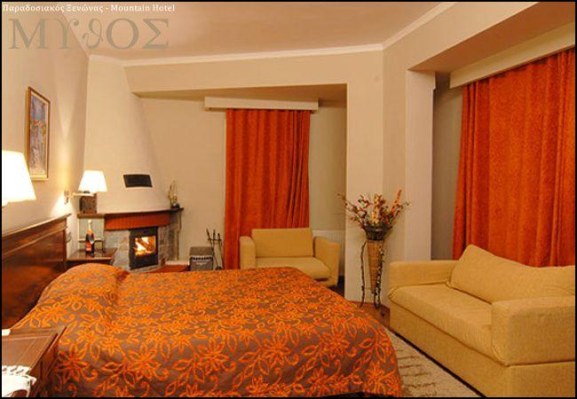 Προσφορά από 49€ ανά διανυκτέρευση με πρωινό για 2 ενήλικες και 1 παιδί έως 5 ετών Ισχύει έως 30/09 στο Mythos Mountain Hotel